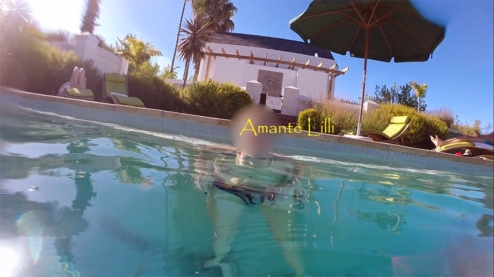 [Afrique du Sud] Exhib à la piscine de l'hôtel