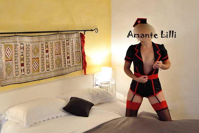 Chambre d'hôtes et lingeries sexy